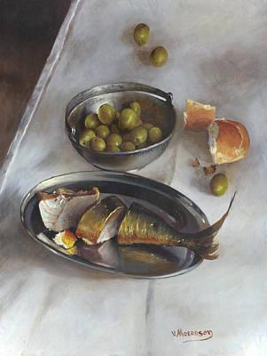 Icelandic Fish Art Print by Victor Mordasov
