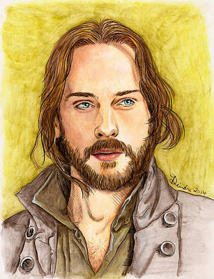 Mixed Media - Ichabod Crane by Deirdre DeLay