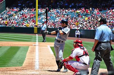 Ichiro Photograph - Ichiro by Stephen Bellingham