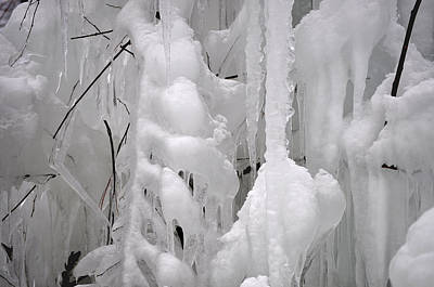 Photograph - Icicles 4 by Staci Bigelow