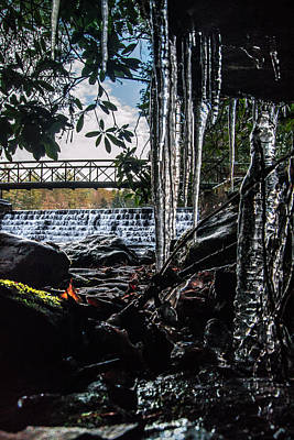 Photograph - Icicles  by Anthony Thomas
