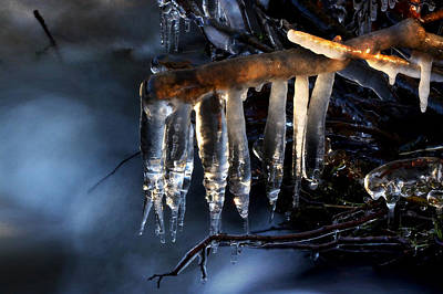 Photograph - Icicles by Jay Evers