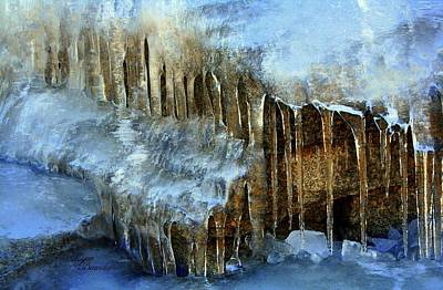 Photograph - Icicles by Lynn Bawden