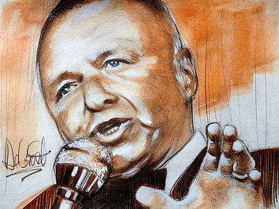 Icon Frank Sinatra Original by Gregory DeGroat