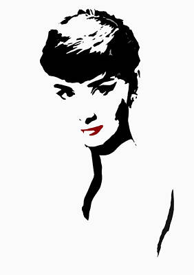 Audrey Hepburn Digital Art - Icon Of Beauty by Steve K