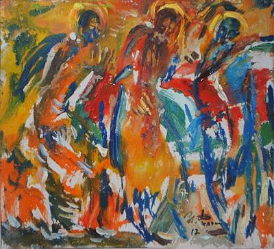 Icon Painters Art Print by Ivan Filichev