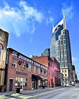 Photograph - Iconic Buildings Of Nashville by Frozen in Time Fine Art Photography