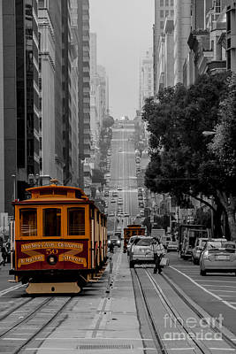 Iconic Cable Car Art Print