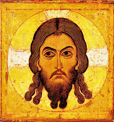 Iconic Christ Art Print by Gary Grayson