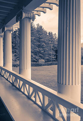Cornish Wall Art - Photograph - Iconic Columns On An Estate by Edward Fielding