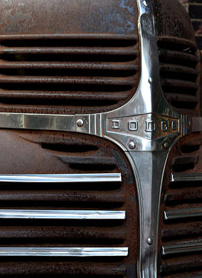 Photograph - Iconic Dodge Truck by Nadalyn Larsen