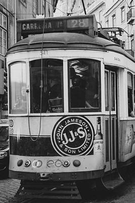 Photograph - Iconic Lisbon Streetcar No. 28 Vi by Marco Oliveira