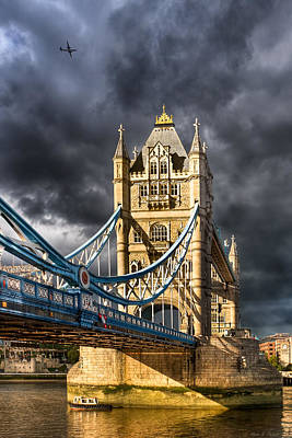 Photograph - Iconic London - Tower Bridge by Mark E Tisdale