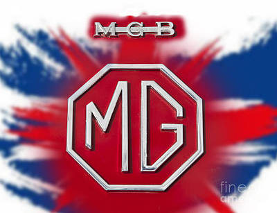 Photograph - iconic MG 1 by Anthony Morgan