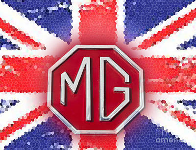 Photograph - iconic MG 2 by Anthony Morgan