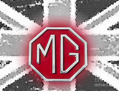 Photograph - iconic MG 3 by Anthony Morgan