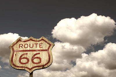 Iconic Route 66  Art Print by Carter Jones