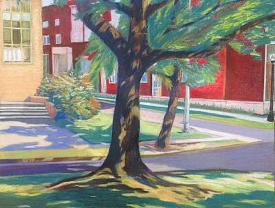 Wall Art - Pastel - Iconic Views At Osu Series 1 by Kerrie B Wrye