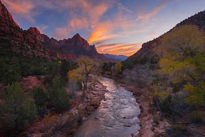 Iconic Zion Art Print by Joseph Rossbach