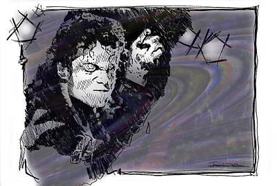 Icons - Michael Jackson Art Print by Jerrett Dornbusch