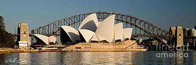 Icons One And Two - Sydney Australia. Art Print