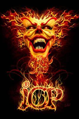 Icp Inferno Print by Tom Wood