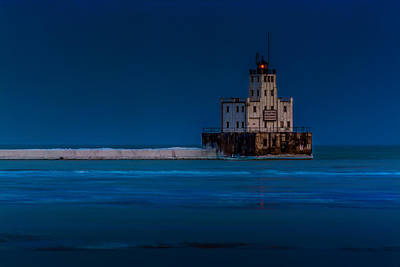 Photograph - Icy Beacon by Randy Scherkenbach