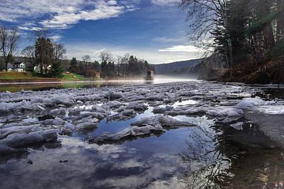 Photograph - Icy Clarington by Anthony Thomas