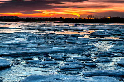 Photograph - Icy Inferno by Pierre Leclerc Photography