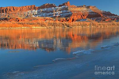 Photograph - Icy Red by Adam Jewell