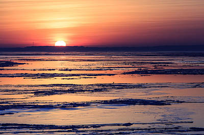 Photograph - Icy Sunrise by Jennifer Casey