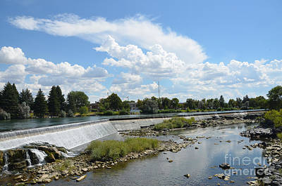 Photograph - Idaho Falls by Debra Thompson