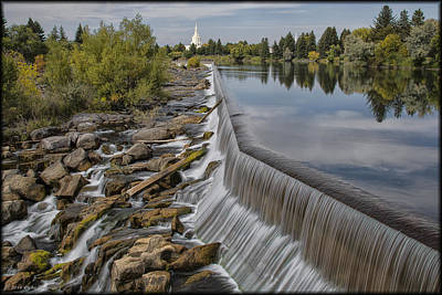 Photograph - Idaho Falls by Erika Fawcett