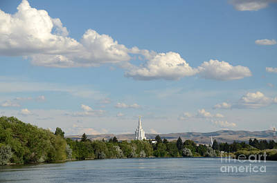 Photograph - Idaho Falls Snake River by Debra Thompson