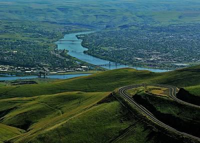 Idaho Highway Art Print