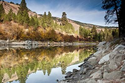 Photograph - Idaho River  by Greg Wyatt