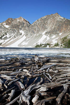 Idaho, Sawtooth Wilderness, Sawtooth Art Print