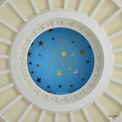 Photograph - Idaho State Capitol Dome Detail by Shanna Hyatt