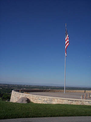 Photograph - Idaho State Veterans' Cemetery by Georgia Hamlin