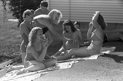 Photograph - Idaho Sun Bathers, 1941 by Granger