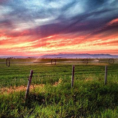 Rural Scenes Photograph - #idaho #sunsets by Cody Haskell