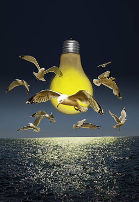 Ideas Take Flight Art Print
