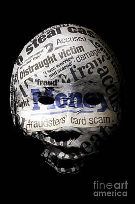 Identity Fraud Concept Art Print