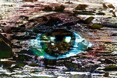 Painting - Ides Of March - Eye - Reflections by Marie Jamieson