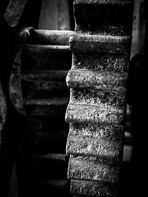 Justin Woodhouse Photograph - Idle Cog by Kaleidoscopik Photography