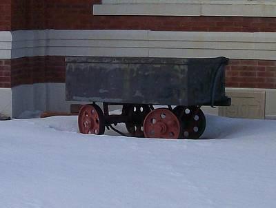 Idle Wagon Art Print