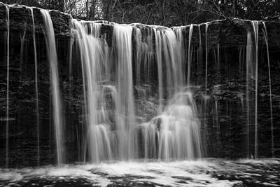 Photograph - Idlewild In Black And White by Scott Bean