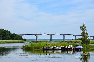 Photograph - Idyllic Bridge by Kennerth and Birgitta Kullman