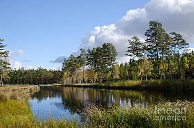 Photograph - Idyllic Pond by Kennerth and Birgitta Kullman