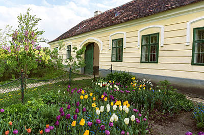 Photograph - Idyllic Weinviertel Village House With Garden by Menega Sabidussi